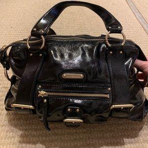 Michael Kors Patent Leather Satchel Bag